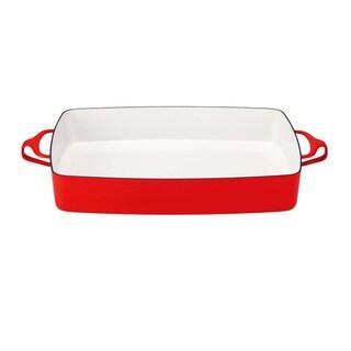 Lenox Kobenstyle Chili Red Rectangular Baker by Dansk