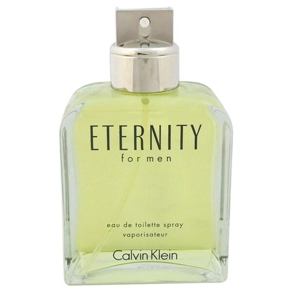 Calvin Klein Eternity Men's 6.7-ounce Eau de Toilette Spray (Unboxed)