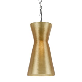 angelo: HOME Aimee Cone 1-Light Swag Plug-in Pendant