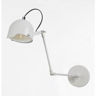 angelo:HOME Cooper White Task Wall Sconce