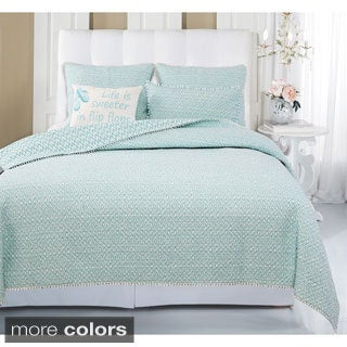 Didi Patterned 3-piece Quilt Set
