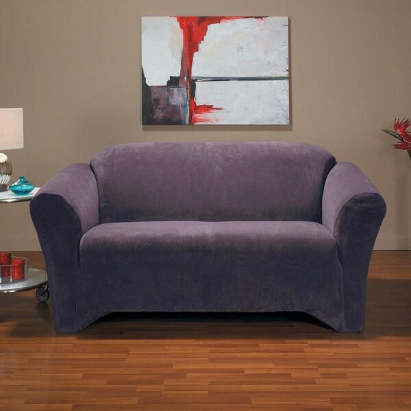 Hanover 1 Piece Stretch Sofa Slipcover 16857340