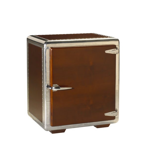 French Heritage Ferault Dark Cherry Storage Table