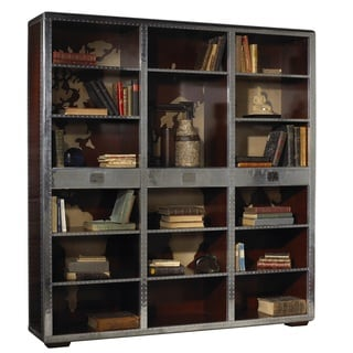 Ferault Cherry Steel Bookcase