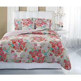 Blissful Bouquet 3-piece Quilt Set