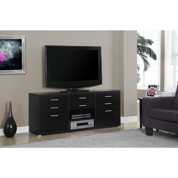 Cappuccino Hollow-core 8-drawer 60-inch TV Console 14472641