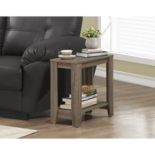 The Gray Barn Michaelis Dark Taupe Accent Table