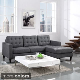 Modway Empress Polyester Right-arm Sectional Sofa