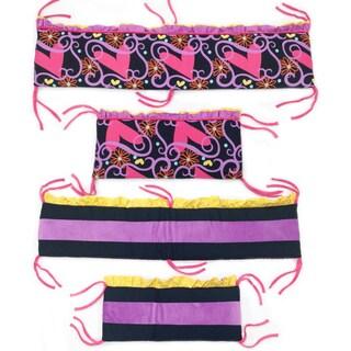 Sassy Shaylee Crib Bumper-Rail Cover