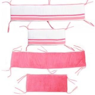 Simplicity Pink Crib Bumper-Rail Cover