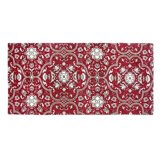 Festoon Collection Red Rug (1'8 x 3'9)