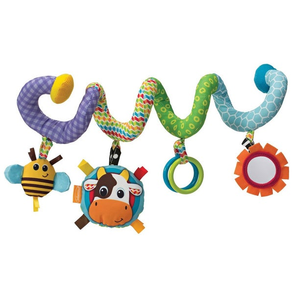 Infantino Spiral Activity Cow/ Bee Toy 14473856