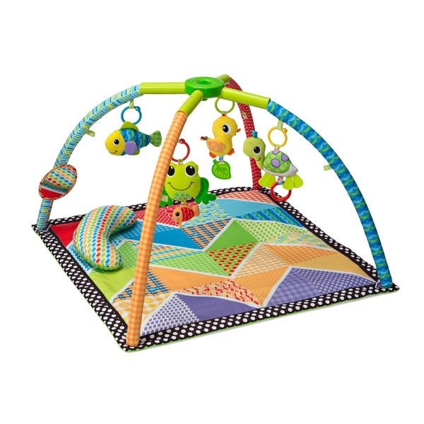 Infantino Pond Pals Twist and Fold Activity Gym Mat