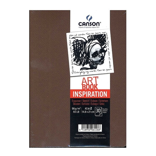 Canson Art Book Inspiration Mi-Teintes Sketch Books