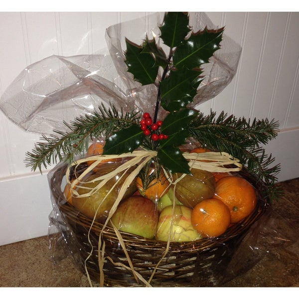 Mother Nature's Farm Small Apple and Pear Gift Basket (Local Delivery)