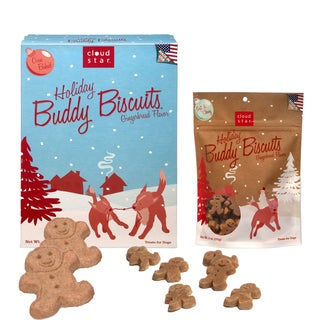 CloudStar Holiday Gingerbread Dog Treat Bundle