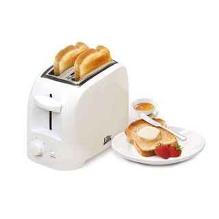 Maxi-Matic Elite Cuisine ECT-6001 White 2-slice Cool Touch Toaster