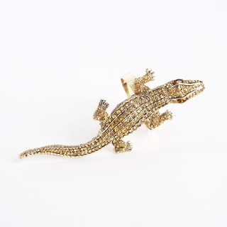Alligator Design Napkin Ring (Set of 4)