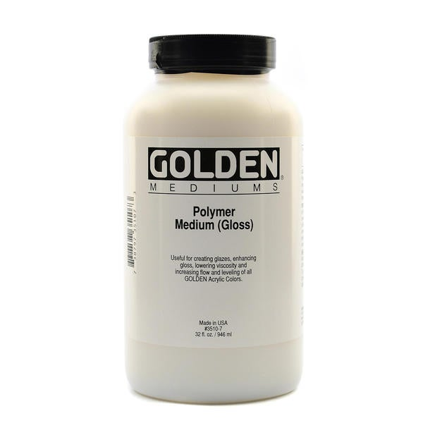 Golden Polymer Medium Gloss