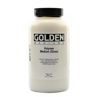 Golden Polymer Medium Gloss