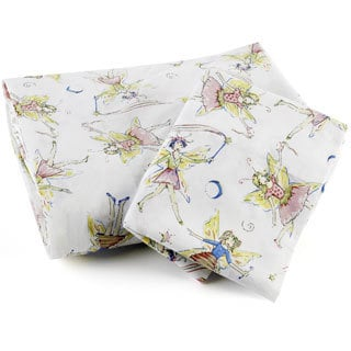 Traditions Linens Queen Size Fairy Sheet Set