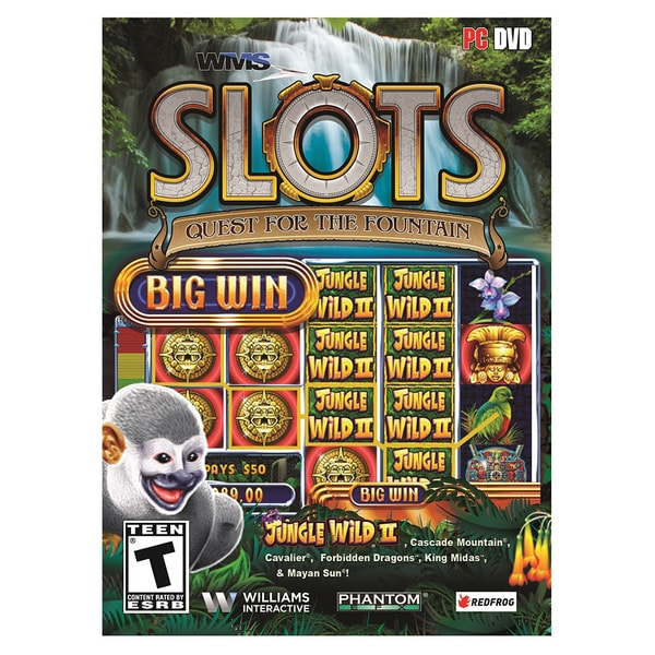 WMS Casino Gaming Slots: Quest for the Fountain PC Game