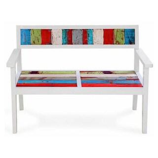 Bay Dreamer Reclaimed Wood Bench