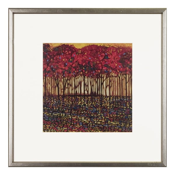 Ford Smith 'Intricate Nature' Silver Framed Art Print