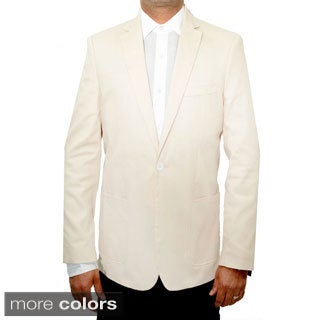 Elie Balleh Boys Slim Fit Cotton Blazer