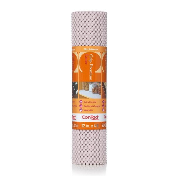 Con-Tact Brand Grip Premium Non-Adhesive Shelf Liner, Wishbone 12 x 48-inch (6 Pack)