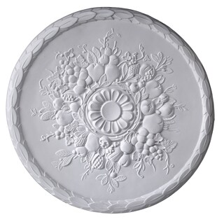 Gaudi Decor R311 Fruity 23-inch Round Ceiling Medallion