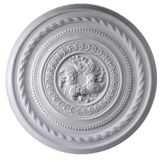 Gaudi Decor R311 Rows of Designs 26-inch Round Ceiling Medallion