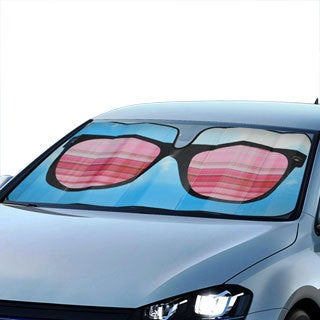 BDK Original Sun Glasses Sun Shade for Car Universal Fit
