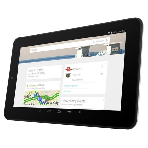"Ematic EGQ337 8 GB Tablet - 7"" - Wireless LAN - Quad-core (4 Core) 1"