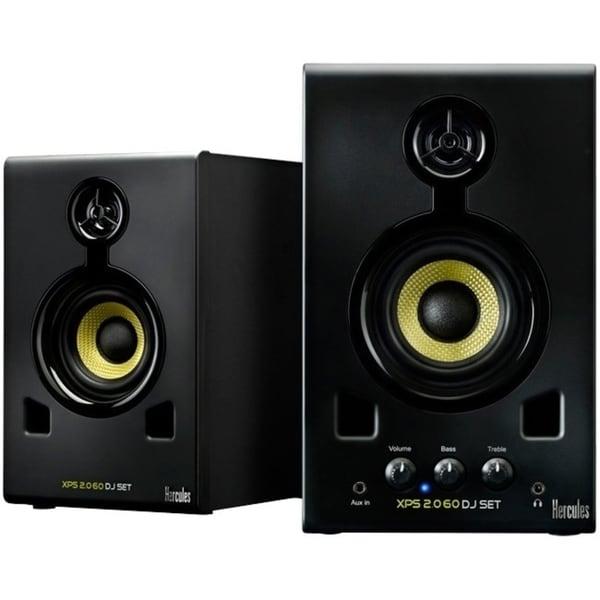 Hercules XPS* 2.0 Speaker System - 30 W RMS - Black