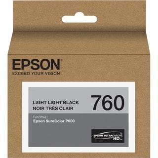 Epson UltraChrome HD T760 Ink Cartridge - Light Black
