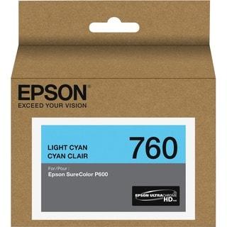 Epson UltraChrome HD T760 Ink Cartridge - Light Cyan