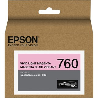 Epson UltraChrome HD T760 Ink Cartridge - Vivid Light Magenta