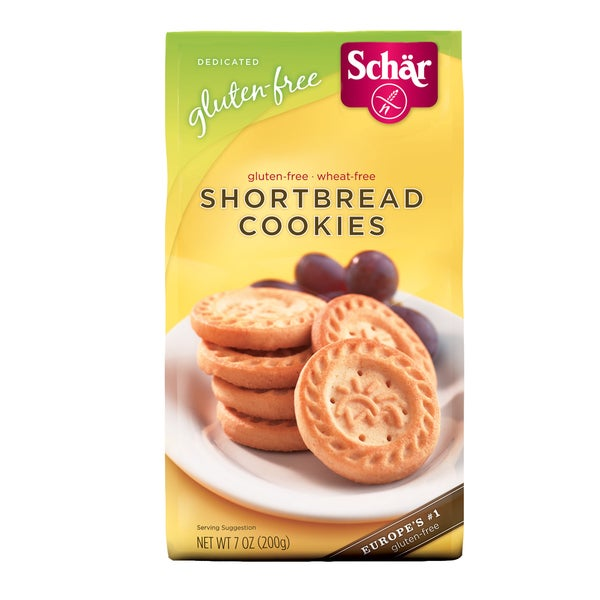 Schar Gluten-free Shortbread Cookies (Case of 6)
