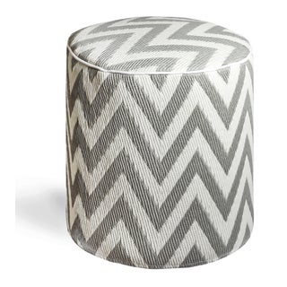 Laguna Paloma and White Pouf