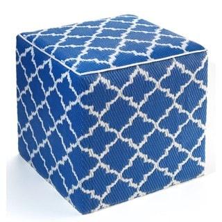 Tangier Regatta Blue and White Cube