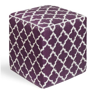 Tangier Plum and White Cube