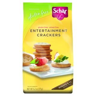 Schar Gluten-free Entertainment Crackers (Case of 6)
