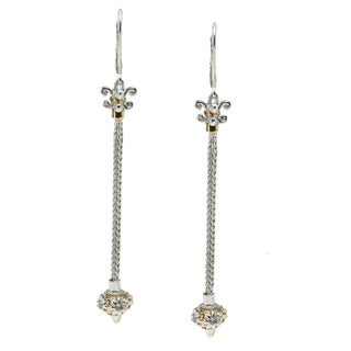 Michael Valitutti Palladium Silver Dangle Earrings