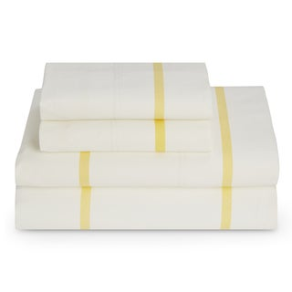 Tommy Hilfiger Lemon Drop HS Stripe Sheet Set