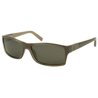 Nautica Men's/ Unisex N6128S Polarized/ Rectangular Sunglasses