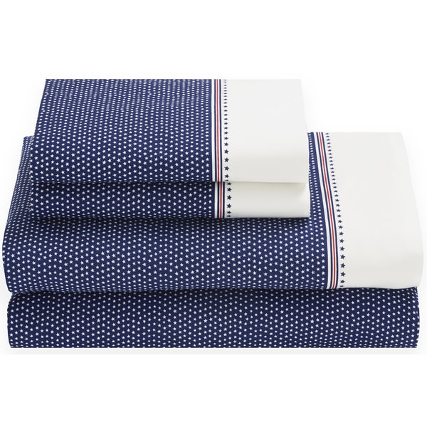 Tommy Hilfiger All Star Sheet Set Blueprint