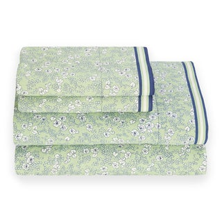 Tommy Hilfiger Peapod Green Vineyard Sheet Set