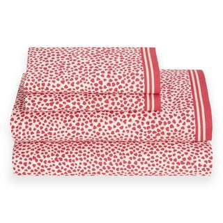 Tommy Hilfiger Cherry Heartland Sheet Set