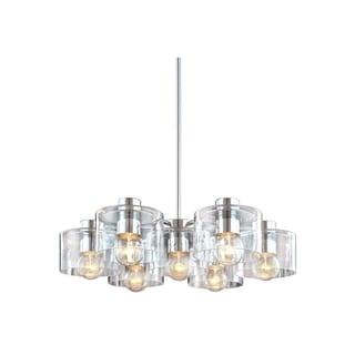 Sonneman Lighting Transparence 7-light Round Pendant